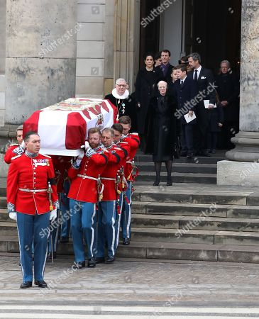 Editorial image of Funeral of Prince Henrik,  Christiansborg Palace Church, Copenhagen, Denmark - 20 Feb 2018