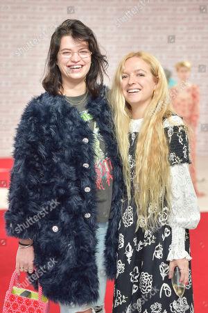 Pixie Geldof and Hannah Weiland