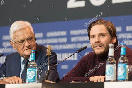 Stock Photo of Jacques Lemoine and Daniel Bruhl