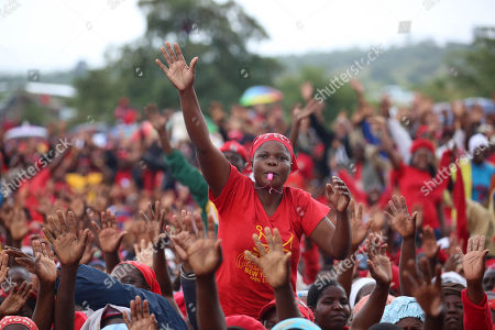 Editorial image of Zimbabwean main opposition leader Morgan Tsvangirai death, Humanikwa, Zimbabwe - 20 Feb 2018