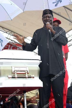 Stock Picture of Raila Odinga