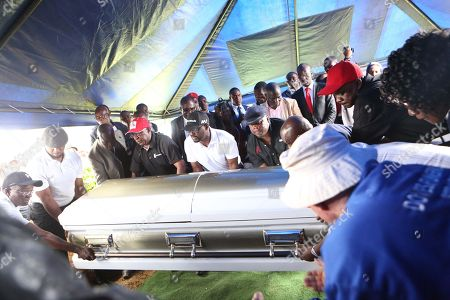 Editorial picture of Zimbabwean main opposition leader Morgan Tsvangirai death, Humanikwa, Zimbabwe - 20 Feb 2018