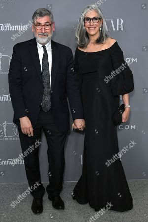 Stock Image of John Landis and Deborah Nadoolman Landis