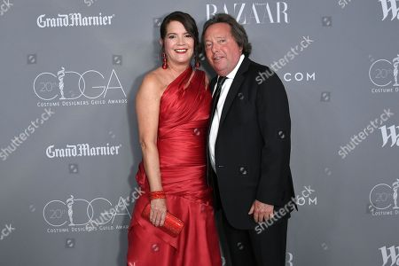 Stock Picture of Richard Gelfond and guest