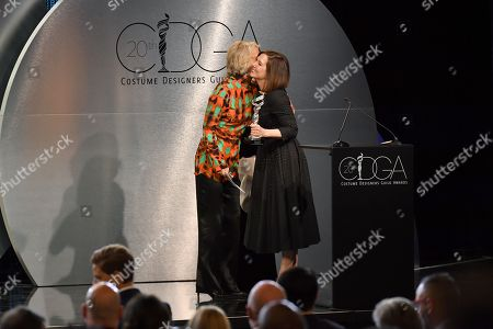Stock Photo of Joanna Johnston and Kathleen Kennedy