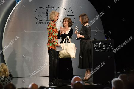 Joanna Johnston, Sally Field and Kathleen Kennedy