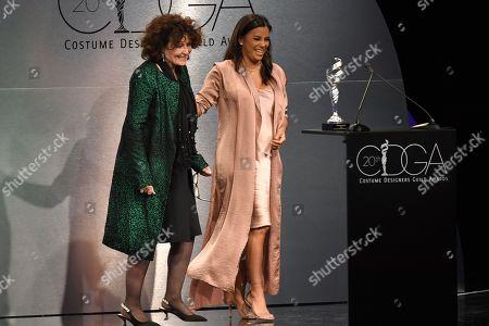 Lyn Paolo and Eva Longoria