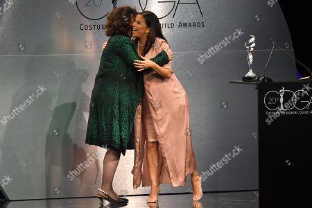 Stock Photo of Lyn Paolo and Eva Longoria