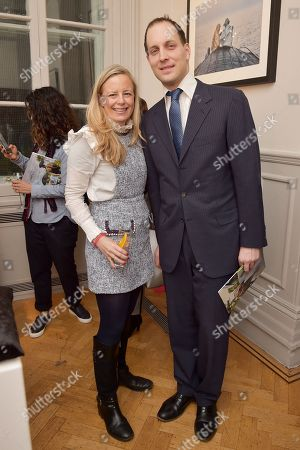 Lord Frederick Windsor and Astrid Harbord