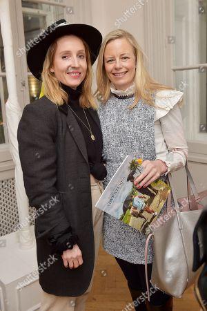 Connie Allfrey and Astrid Harbord