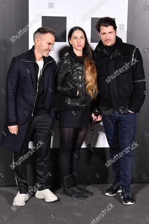 Neil Barrett, Benedetta Mazzini and Corto Moltedo