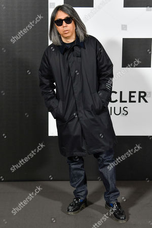Editorial photo of Moncler show, Arrivals, Fall Winter 2018, Milan Fashion Week, Italy - 20 Feb 2018