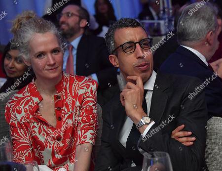 Kamal Ahmed and Polly Glynn