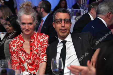 Stock Image of Kamal Ahmed and Polly Glynn