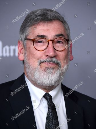 Stock Photo of John Landis arrives at the 20th annual Costume Designers Guild Awards at The Beverly Hilton hotel, in Beverly Hills, Calif