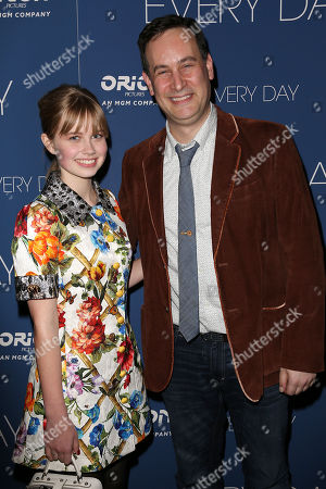 Angourie Rice and David Levithan (Writer)