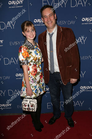Stock Photo of Angourie Rice and David Levithan (Writer)