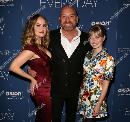 Debby Ryan, Michael Sucsy (Director) and Angourie Rice