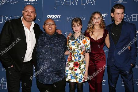 Michael Sucsy (Director), Jacob Batalon, Angourie Rice, Debby Ryan and Owen Teague