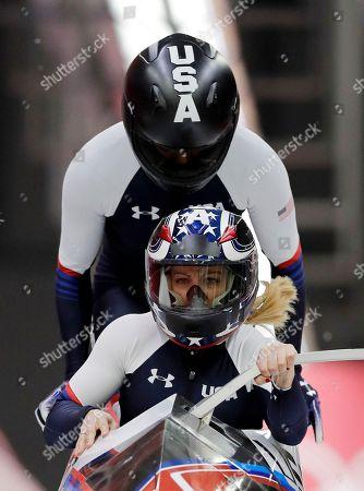 Editorial photo of Olympics Bobsled, Pyeongchang, South Korea - 21 Feb 2018