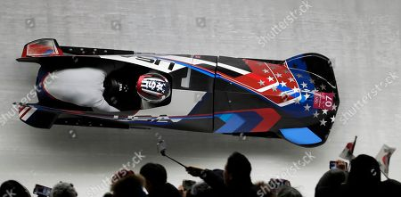 Editorial picture of Olympics Bobsled, Pyeongchang, South Korea - 21 Feb 2018