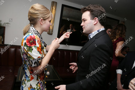 Stock Picture of Angourie Rice and Jake Sim