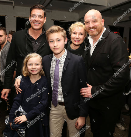 Demitri Sgourakis and Michael Sucsy (Director) with family