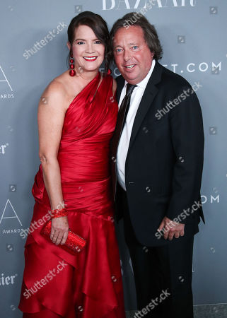 Editorial picture of 20th Annual Costume Designers Guild Awards, Arrivals, Los Angeles, USA - 20 Feb 2018