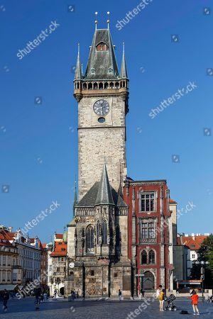 Historic Town Hall, historic centre, Prague, Czech Republic