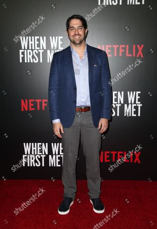 Editorial picture of 'When We First Met' film screening, Los Angeles, USA - 20 Feb 2018