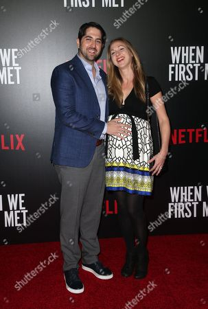 Editorial image of 'When We First Met' film screening, Los Angeles, USA - 20 Feb 2018