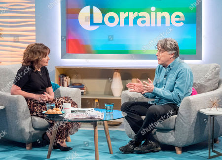Lorraine Kelly and Alan Davies