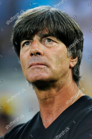 Football coach Joachim Loew, portrait, Moenchengladbach, Germany
