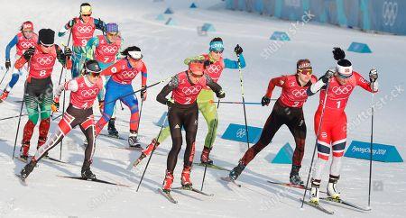Editorial image of Cross Country - PyeongChang 2018 Olympic Games, Daegwallyeong-Myeon, Korea - 21 Feb 2018