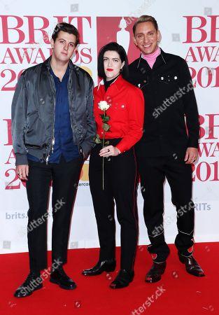 The xx - Romy Madley Croft, Oliver Sim and Jamie xx