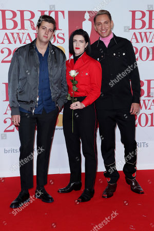 Editorial image of 38th Brit Awards, Arrivals, The O2 Arena, London, UK - 21 Feb 2018