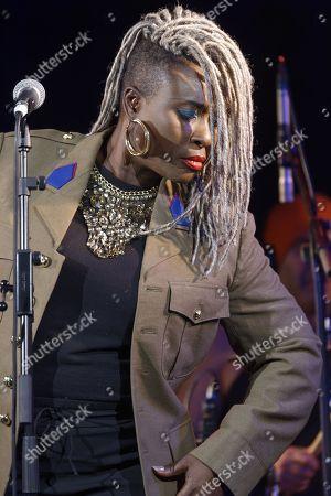 Editorial picture of Sia Tolon in concert, Paris, France - 15 Feb 2018