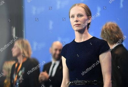 Susanne Wuest poses during a photocall for 'Mein Bruder heisst Robert und ist ein Idiot - My brother's name is Robert and he is an idiot' at the 68th annual Berlin International Film Festival (Berlinale), in Berlin, Germany, 21 February 2018. The Berlinale runs from 15 to 25 February.