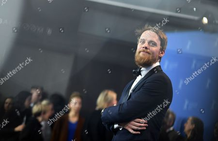 Actor Stefan Konarske poses during a photocall for 'Mein Bruder heisst Robert und ist ein Idiot - My brother's name is Robert and he is an idiot' at the 68th annual Berlin International Film Festival (Berlinale), in Berlin, Germany, 21 February 2018.The Berlinale runs from 15 to 25 February.