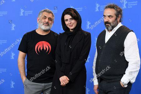 Stock Photo of Leila Hatami, Mani Haghighi and Hasan Majuni
