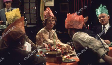 Editorial photo of 'Emmerdale Farm' TV Series UK - 1975
