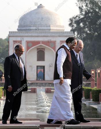 Venkaiah Naidu and Prince Shah Karim Al Hussaini Aga Khan