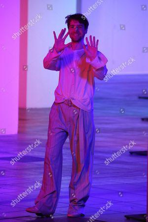 Designer Sander Lak on catwalk