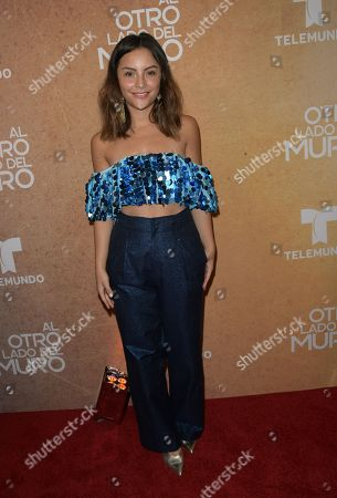Editorial photo of 'Al Otro Lado del Muro' telenova screening, Miami, USA - 20 Feb 2018