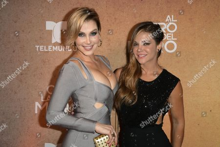 Stock Image of Gabriela Vergara and Jullye Giliberti