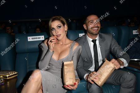 Stock Image of Gabriela Vergara and Uriel del Toro