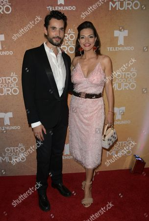 Stock Image of Khotan Fernandez and Candela Ferro