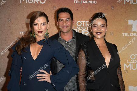 Stock Picture of Marjorie de Sousa, Gabriel Porras and Litzy