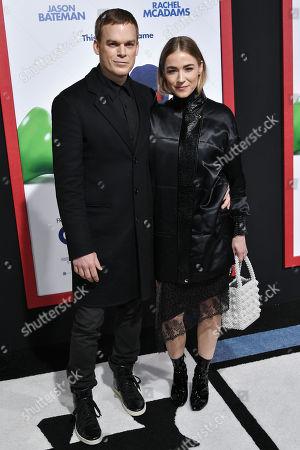 Michael C Hall and Morgan Macgregor