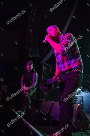 L to R Terry Corso and Dryden Mitchell of Alien Ant Farm
